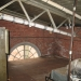 Tesla's Wardenclyffe Laboratory: Attic Corner