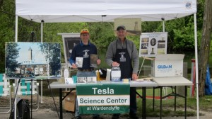 TSC booth at Duck Pond Day in Wading River, NY.